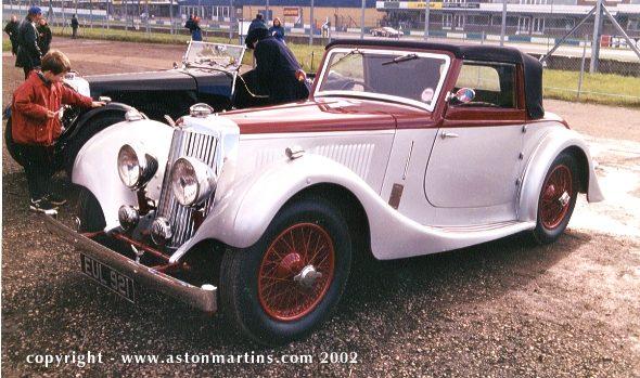 15/98 drop head coupe « aston martins