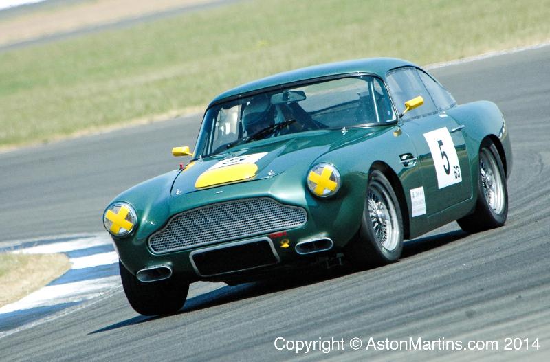 DB4 Lightweight AMOC Racecar « Aston Martins.com