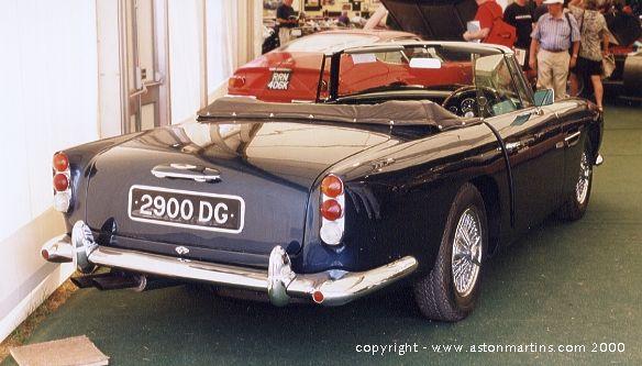 Db5 Convertible Aston Martins Com