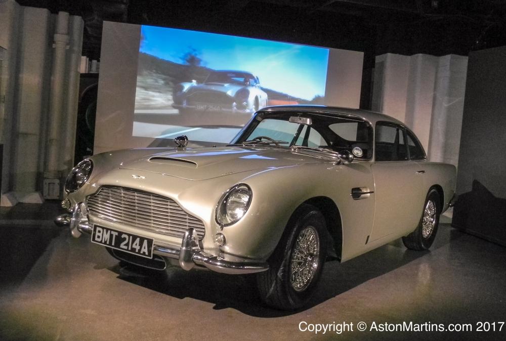 Db5 For 007 James Bond Goldeneye Aston Martins Com