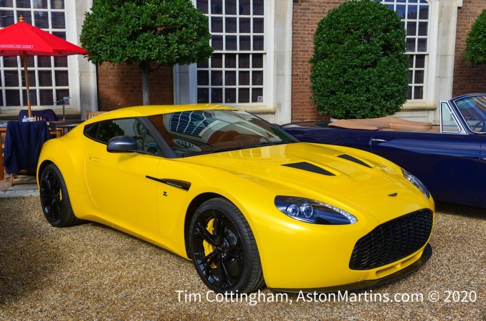 V12 Zagato Production Aston Martins Com