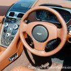 vanquish volante interior