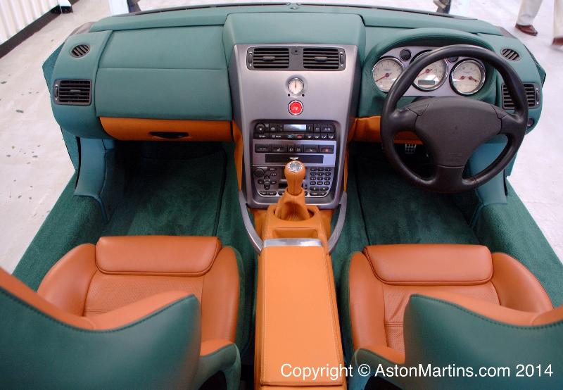 V12 Vanquish Stick Shift By Works Service 171 Aston