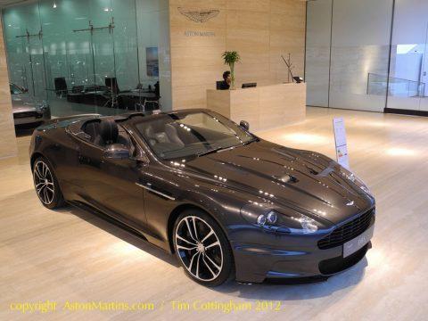 DBS V12 Volante Carbon Edition