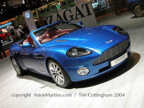 V12 Vanquish Roadster by Zagato