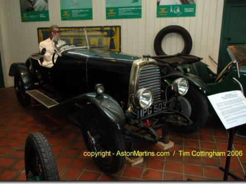 Aston-Martin 1.5 litre Side Valve (3 seater)