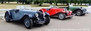 2 litre Aston Martins