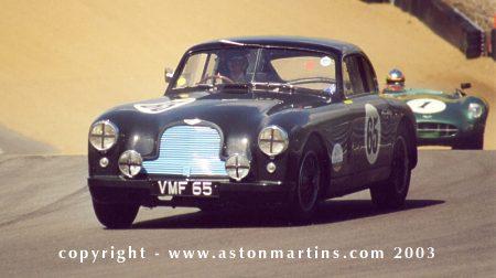 DB2 1950 Team Cars