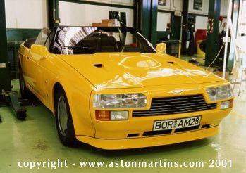 V8 Volante Zagato to Vantage spec
