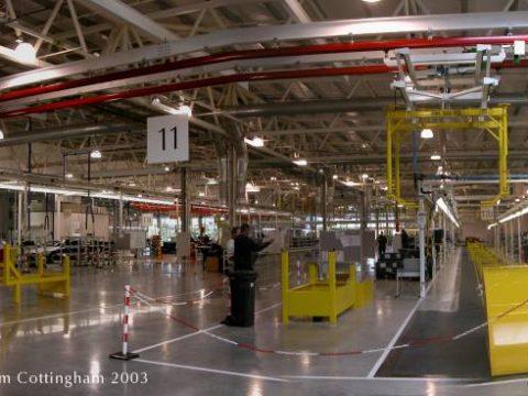 DB9 Production at Gaydon