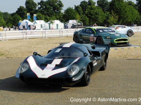 Lola T70 with Aston Martin V8 engine