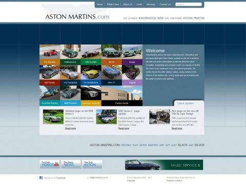 Welcome to AstonMartins.com Mark 2