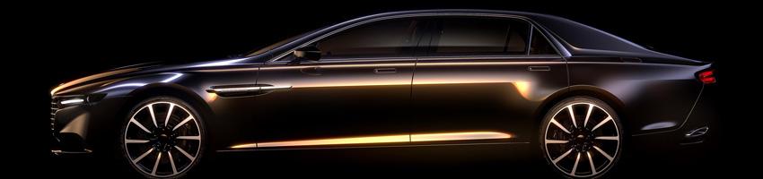 Aston Martin Lagonda 2015 Super saloon prototype render