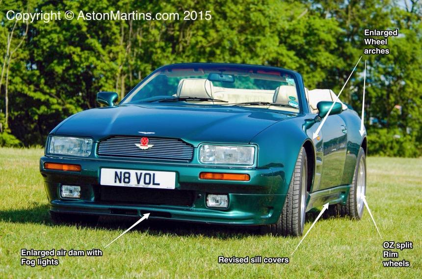 Aston Martin Virage Volante 6.3