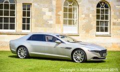 Lagonda Taraf, new pictures in the UK