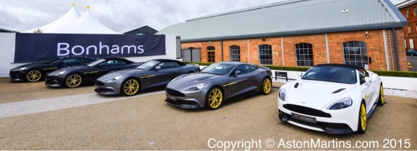 Aston Martin Vanquish Works 60th anniversary