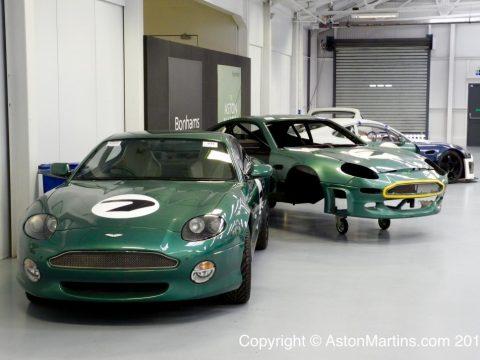 DB7 Vantage racecars
