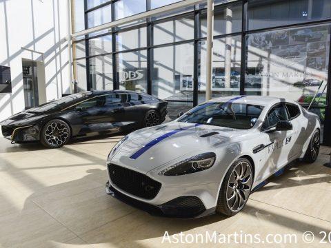 Rapide E, the first EV Aston Martin